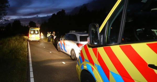 Man met spoed naar het ziekenhuis na ongeluk in Schijndel.
