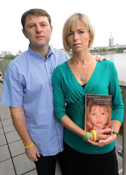 Kate en Gerry McCann, de ouders van de vermiste Maddie.