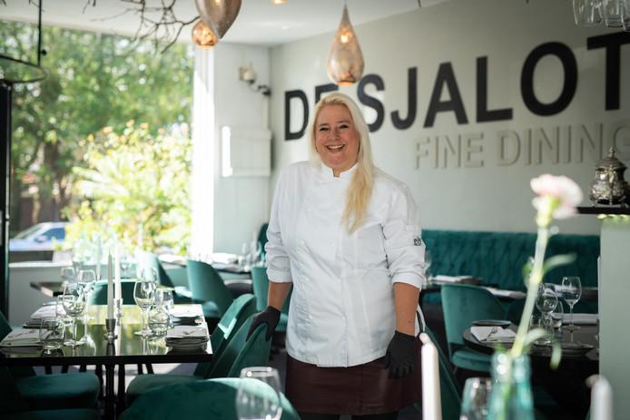Sibrecht Benning, eigenaresse en topkok van restaurant De Sjalot in Nijmegen.