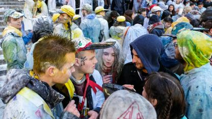 1.000 studenten trekken door Brussel voor Saint-V