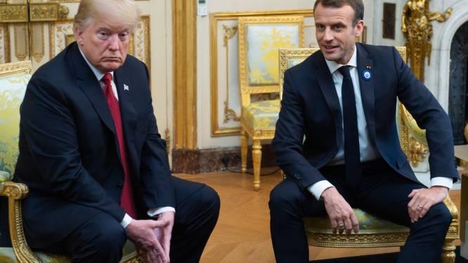 """Na tweede uithaal van Trump over Frankrijk: """"3 jaar na aanslagen in Parijs zou 'common decency' gepast zijn geweest"""""""