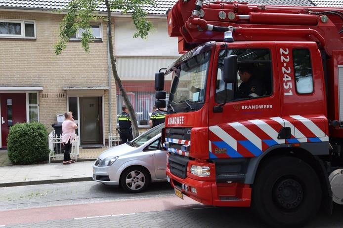 Brandje op zolder in Grebbeberglaan
