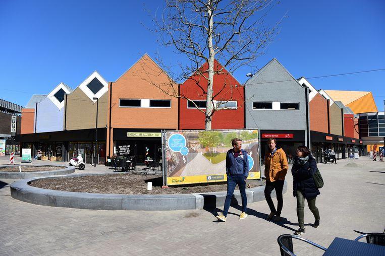 Het stadshart van Lelystad.  Beeld Marcel van den Bergh / de Volkskrant
