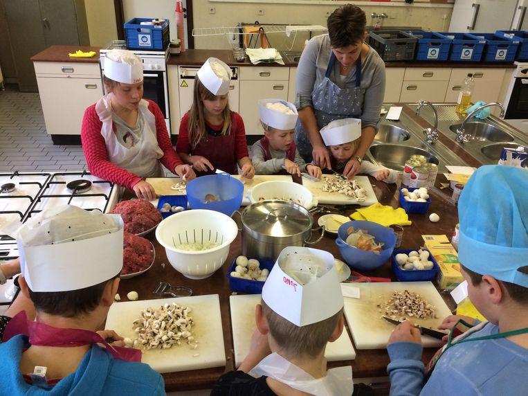 De kookworkshops zijn altijd een groot succes.