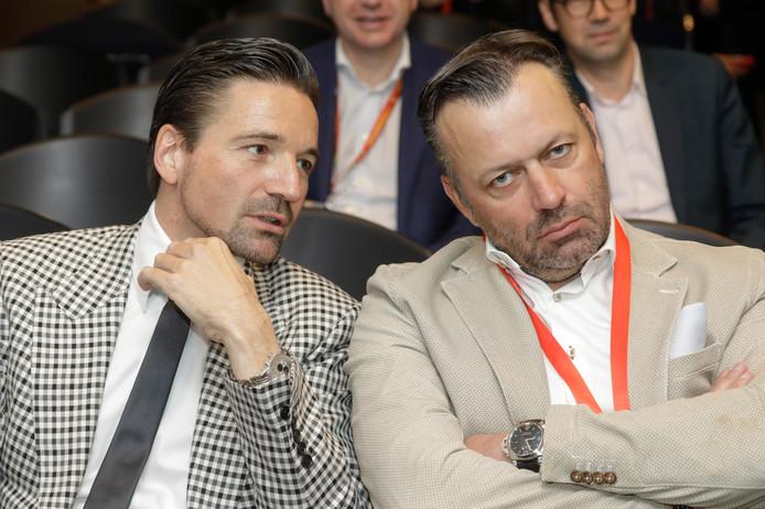 Luc Delbrouck et Stefaan Vanroy