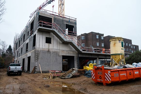 De nieuwbouw van Blik wordt opgeleverd op 1 april.
