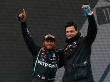 Wolff: 'Het gaat rondkomen met Lewis, hij is alleen nóg duurder geworden'