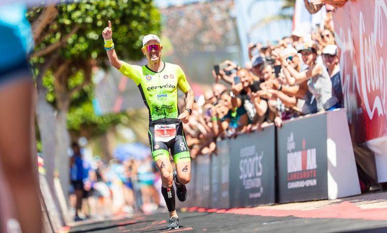 Frederik Van Lierde won vorig jaar nog de Ironman in Lanzarote.