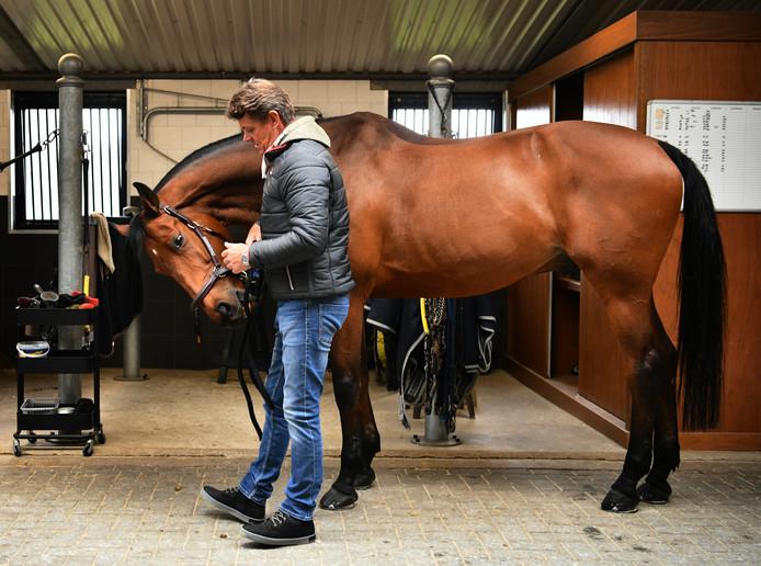 Weerselo Jeroen Dubbeldam met zijn paard Zenith.