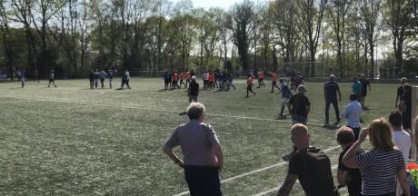 Politie draaft op voor vechtpartijen na duel SKV Wageningen - Be Quick Zutphen