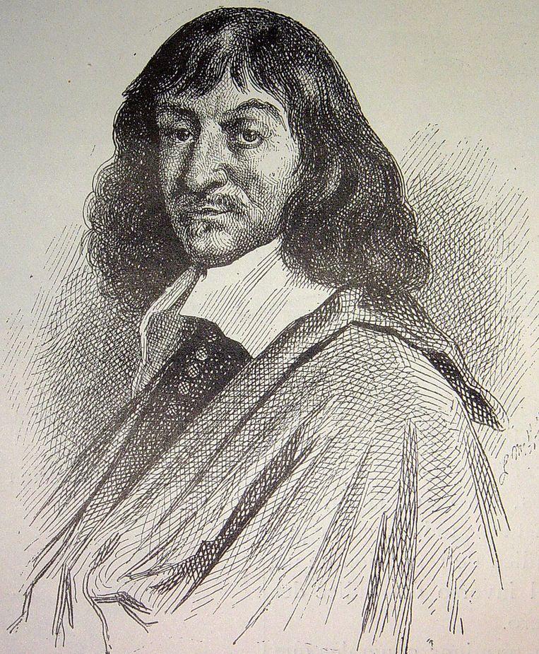 René Descartes Beeld Flickr/Biblioteca de la Facultad de Derecho y Ciencias del Trabajo