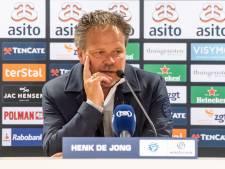 De Graafschap-trainer De Jong: 'Niet in paniek raken'