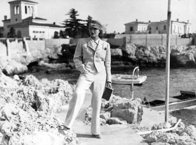 3. Marlene Dietrich shockeerde door broeken te dragen. Beeld getty