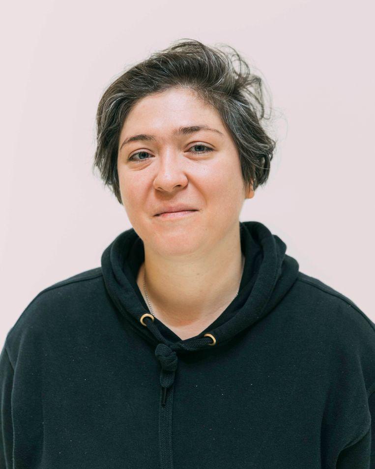 Funda Gül Özcan  Beeld Rebecca Fertinel