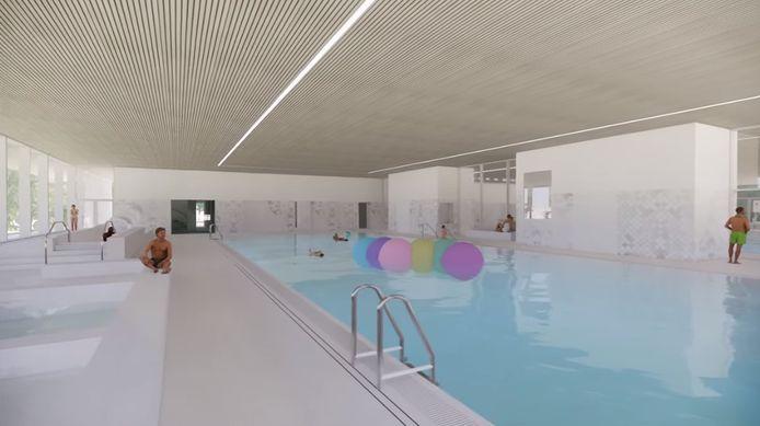 De nieuwbouw van zwembad De Koerbelt loopt waarschijnlijk lichte vertraging op.