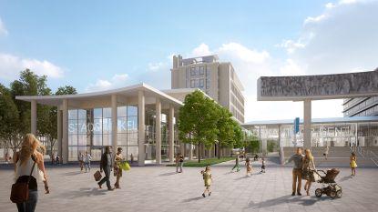 Oude stadsbib en AC aan de Zuid worden tegen 2023 verbonden met passerelle tot één Stadskantoor