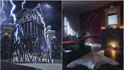 BINNENKIJKEN. Slapen in het huis van The Addams Family? Het kan via Booking.com