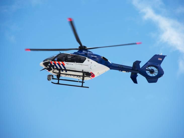 Twee politiehelikopters cirkelen boven Tilburg opzoek naar vrouw die auto ingetrokken is, maar blijkt gewoon een ruzie