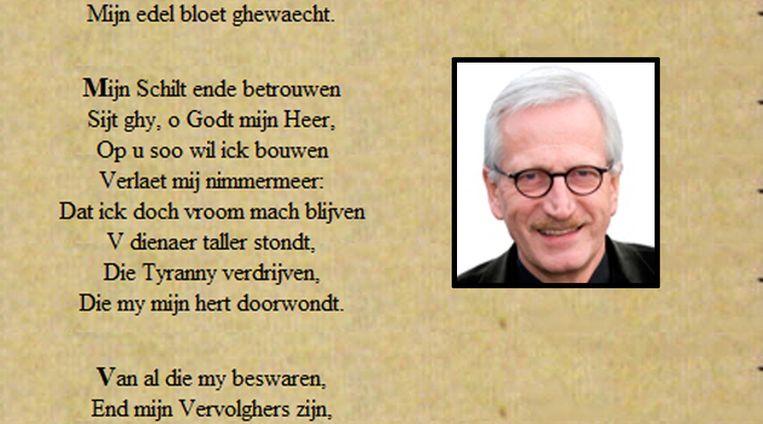 Burgemeester Gerritsen van Zutphen is niet verplicht het zesde couplet van het Wilhelmus mee te zingen. Beeld Zutphen.nl