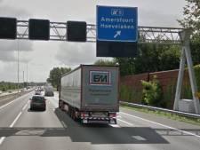 A28-afrit Amersfoort-Hoevelaken (8) vannacht dicht