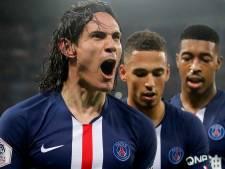 Mijlpaal voor Cavani en rood voor Neymar bij doelpuntenfestijn in Parijs