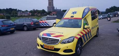 Bestuurder waterscooter overvaren door speedboot in Rhenen