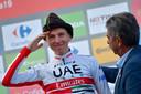 Tadej Pogacar werd vorig jaar derde in de Vuelta, op zijn 21ste nota bene.