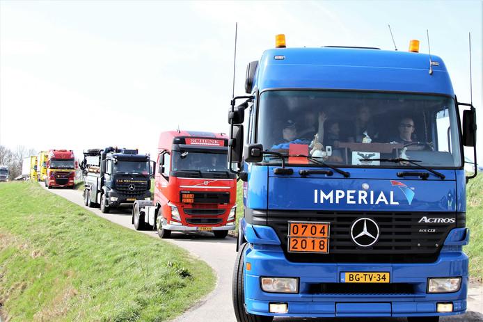 ,,Doordat we de route moesten inkorten, kunnen we nu twee keer rijden.''