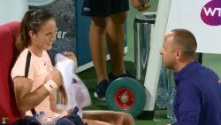 """Speech van Belgische tenniscoach  gaat de wereld rond: """"Het weer is schitterend"""""""