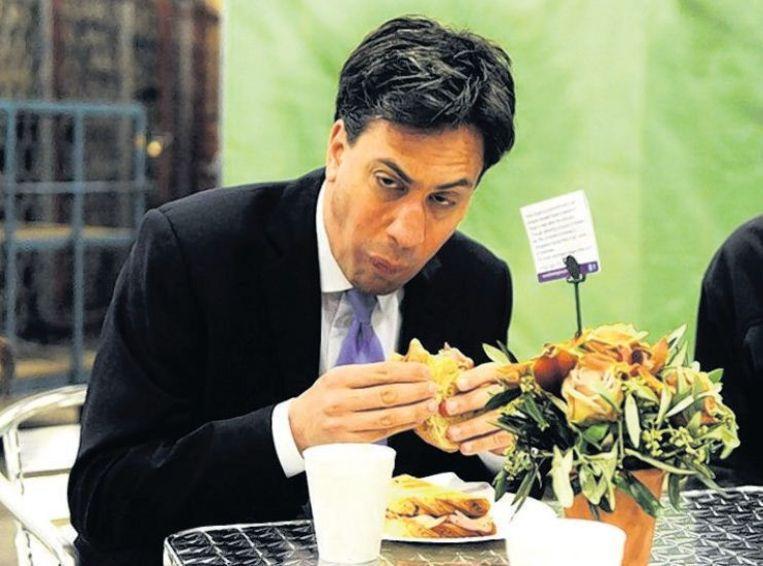 Een ongelukkige foto met een sandwich achtervolgt hem nog altijd. Beeld reuters