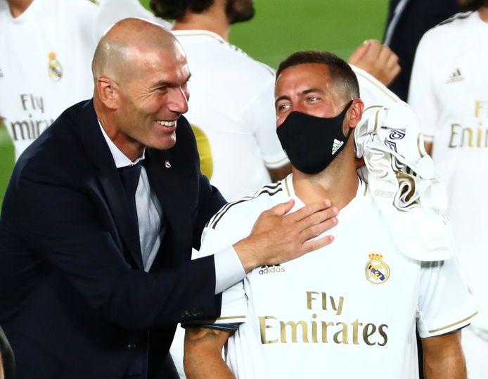 Zidane en Hazard