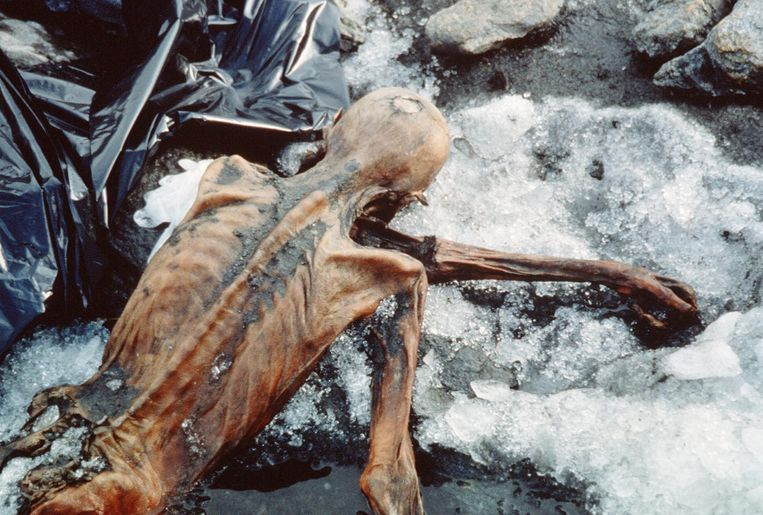Ötzi leefde tussen 3400 en 3100 voor Christus in wat nu het grensgebied van Italië en Oostenrijk is. Zijn naam is afgeleid van de Ötztaler Alpen op de grens van Oostenrijk en Italië, waar zijn lichaam in 1991 door enkele Duitse toeristen werd gevonden.