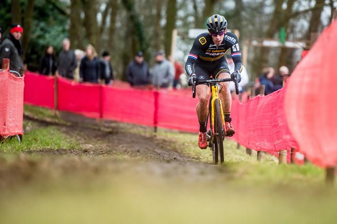 Vorig jaar won Lars van der Haar voor de vierde keer de veldrit in Rucphen. Dit jaar is de cross het decor voor het NK.