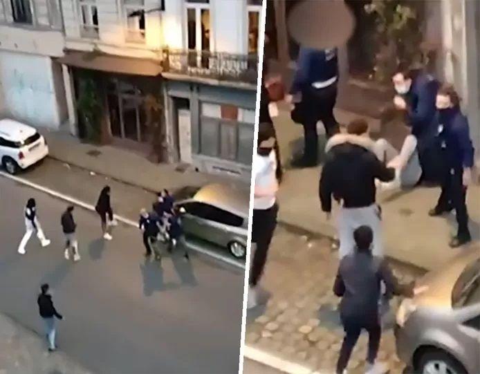 Un contrôle Covid dégénère à Ixelles, des policiers pris à partie.