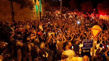 Moslimleiding roept Palestijnen op terug te keren naar Tempelberg
