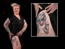 'Lugubere' tattoo van Marely (48) heeft bijzondere boodschap: 'Deze is voor alle zogenaamd moeilijke kinderen'