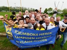 Scrumboks kroont zich tot kampioen