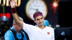 Wéér door het oog van de naald: Federer overleeft 7 (!) matchballen tegen Sandgren en zit in halve finales