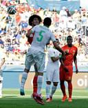 WK 2014België - Algerije 2 - 1In de openingsmatch van de Rode Duivels op het WK 2014 loopt het niet zoals verwacht. Algerije leidt met 1-0, wanneer invaller Fellaini de match doet kantelen. Twintig minuten voor tijd kopt hij de gelijkmaker binnen. Tien minuten later zorgt Mertens voor de zege.