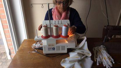 Veurnse vrijwilligers naaiden al 1.400 mondmaskers en nog gaat de naaimachine niet opnieuw de kast in