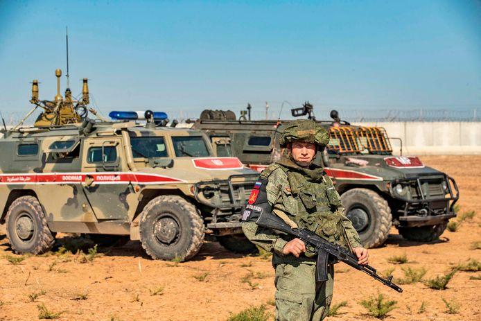 """Rusland stuurde eerder ook al militaire politieagenten ter plaatse voor """"speciale operaties""""."""