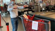 Lokale Delhaize verdeelde al 20.000 afneembare handvatten voor coronavrije winkelkarren