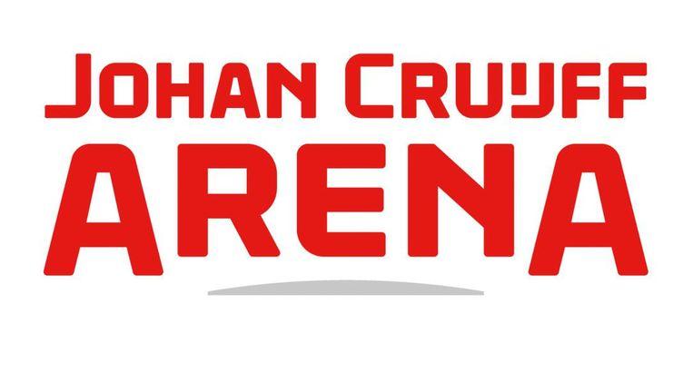 Het nieuwe logo Beeld Arena
