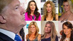 Deze 19 vrouwen beweren dat ze affaire hadden met Trump (gewenst of ongewenst)