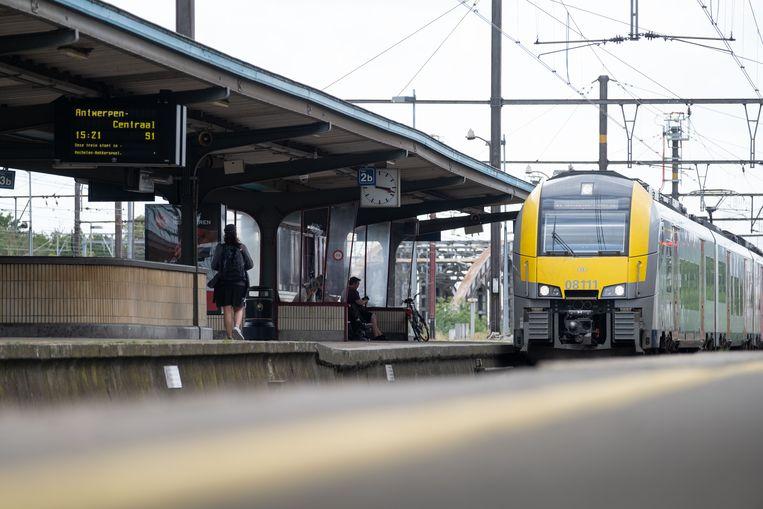 Het station van Mechelen.
