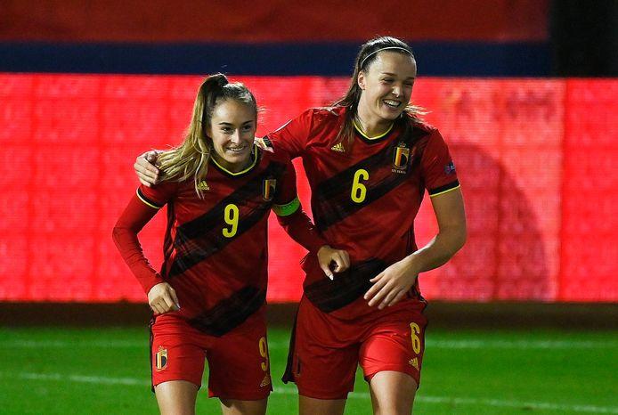 Wullaert en De Caigny, gisteren opnieuw belangrijk voor de Red Flames.