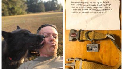 """Baasje ontvangt ijskoud briefje: """"Ik heb uw hond gedood"""""""