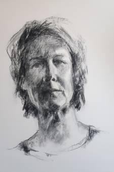 Genomineerd voor Portretprijs en nu in Kunstroute Beuningen