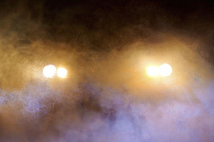 De vrouw uit Breda vertelde in de ambulance dat zij twee lampen op zich zag afkomen.