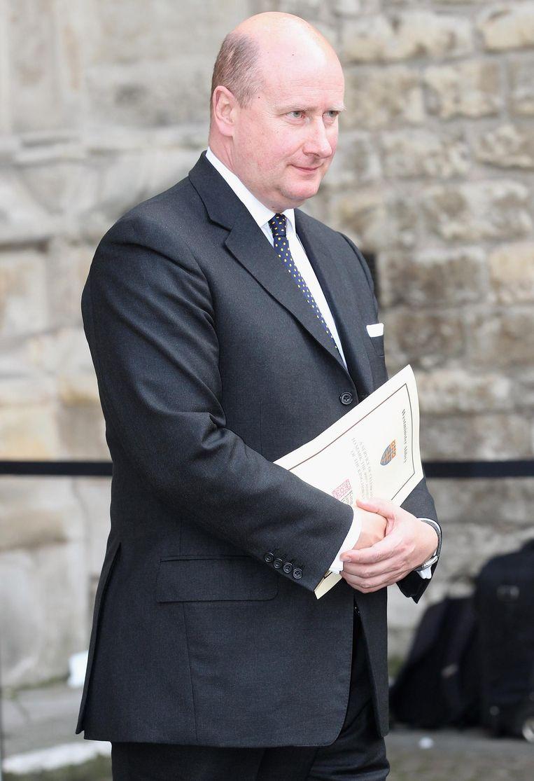 Sir Christopher Geidt, de vroegere privé-secretaris van de koningin.